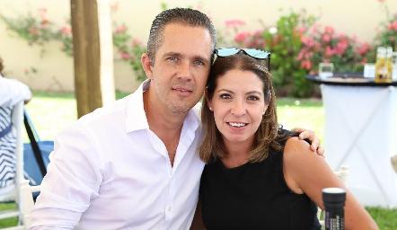 Eduardo Espinosa y Cecilia Limón.