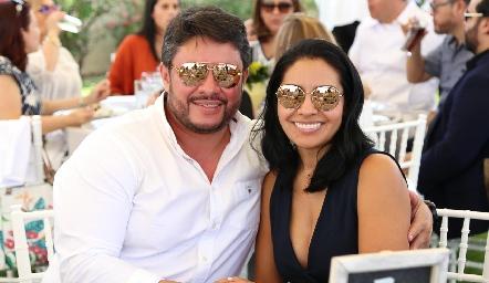 Ulises Pérez y Jessica Torres.