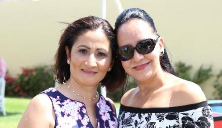 Setzi Sánchez y Amaranta Martínez.