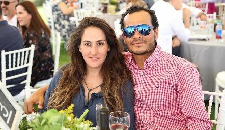 Lorena Ortiz y Miguel Fernández.