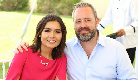 Lorena Torres y Daniel Carreras.