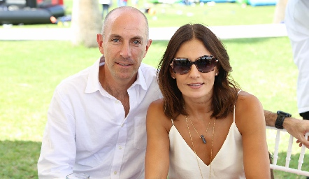 Juan Carlos Nieto y Claudia Artolózaga.