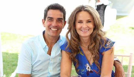 Jacobo Villalobos y Karina Vita.
