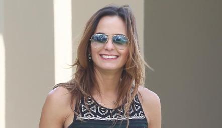 Gloria Medina.