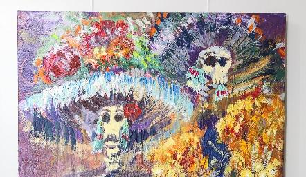 Exposición de Sofía Milán y Ricardo de la Torre.