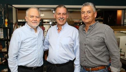 René Padilla, Francisco Correa y Ramón Zacarías.