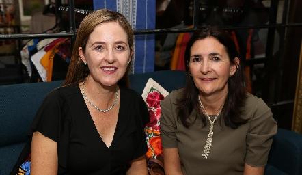 Lourdes Gutiérrez y Marcela Valle.