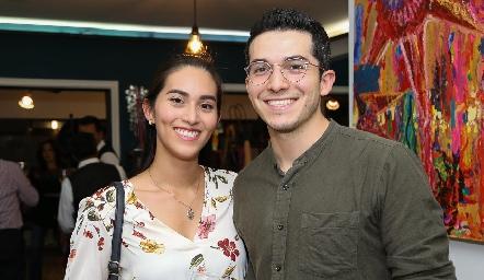 Ariana Martínez y Gerardo Soler.