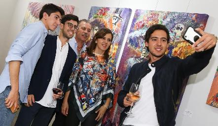 Familia Correa Milán.