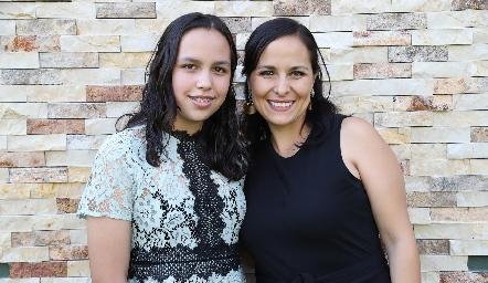 Montse Rodríguez y Susy Humara.