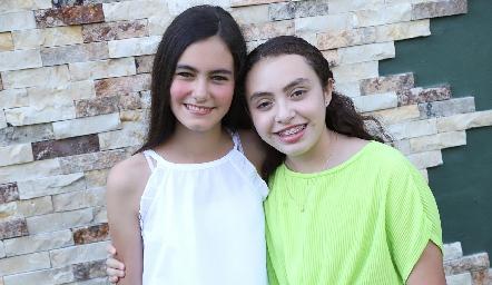 María y Ximena.