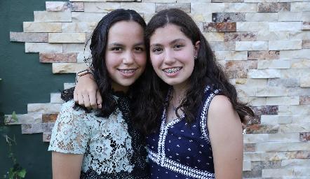 Montse y Miriam.