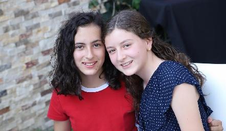 Daniela e Isabel.