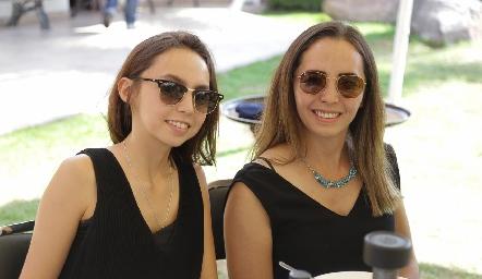 Ivana Suárez y Argelia Suárez.