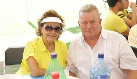 Kena Díaz de León y Heriberto Lizaola.