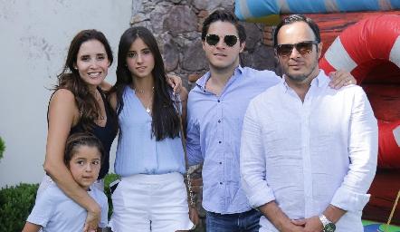 Familia Stevens Díaz de León.