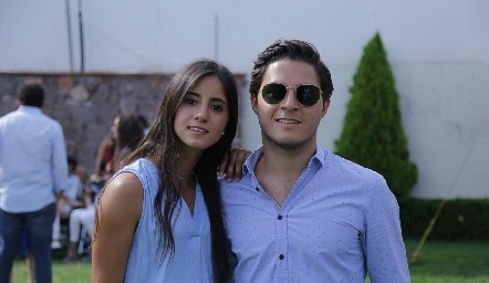 Ximena y Alejandro Stevens.