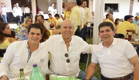 Toño Morales, Sergio y Toño Morales.