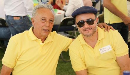 Carlos y Carlos Díaz de León.