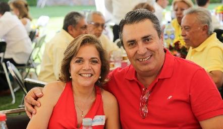 Conchita y Ricardo Espinosa.