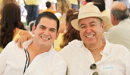 Antonio y Sergio.
