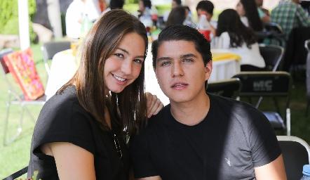 Ale Alessi y Santiago Perafán.