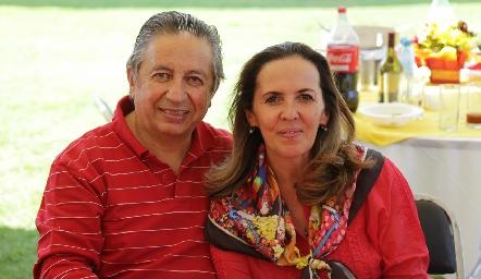 Fabián y Olga Espinosa.