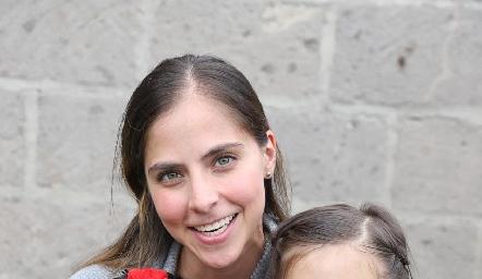 María José Torrescano, María Andrea y María Inés.