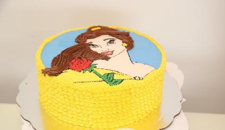 Delicioso pastel.