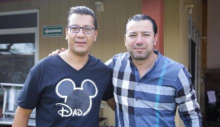 Gerardo González y Elías Valencia.
