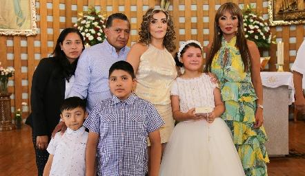 Primera Comunión de Fernanda Garza Cabanillas