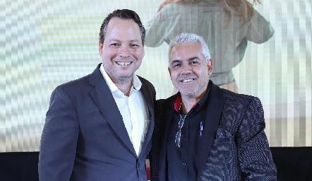 Abelardo Díaz y Víctor Padilla.