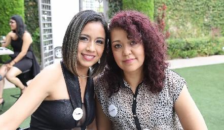 Arcelia Rodríguez y Norma Alicia.