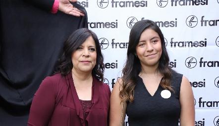 Fabiola Mejorada y Sofía Cano.