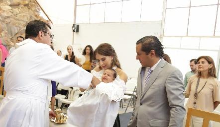 Bautizo de Juan Pablo.