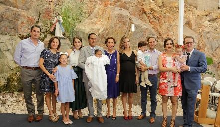 Familias Ramírez Abella y Rangel Mina.