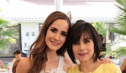 Dani Mina y Teresa Guerrero.