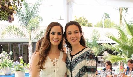 Daniela Mina y Tere Mancilla.