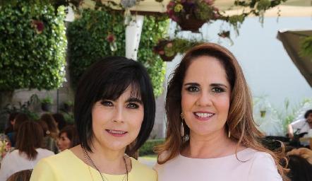 Teresa Guerrero y Gabriela Payán.