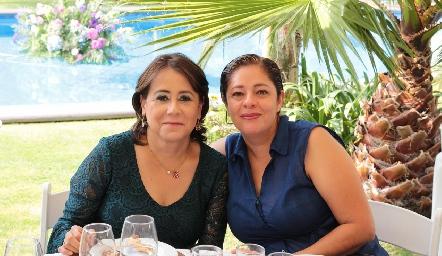 Rosa Laura Guerrero y Eugenia Zarandona.