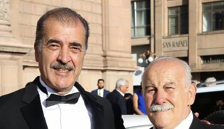 Marco Güemes y Martin Arochi.
