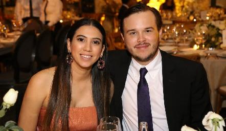 Renata Olivares y Abraham Gallegos.