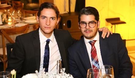 Eduardo Morales y Juan Carlos Palau.