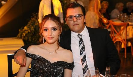 María Elena Martínez y José María Torres.