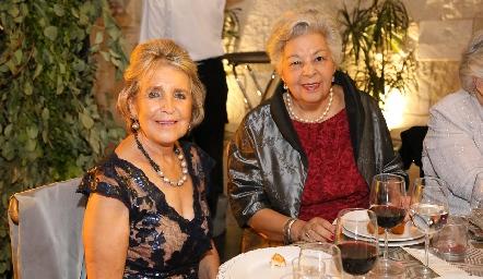 Pita Espinosa y Guadalupe Servín.