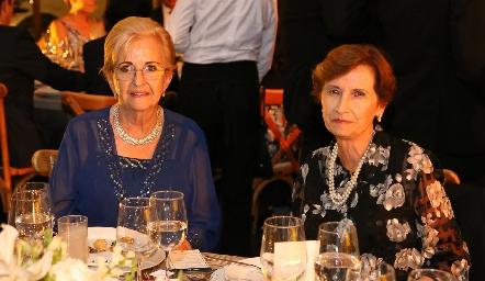 Jami Martí y Guadalupe Martí.