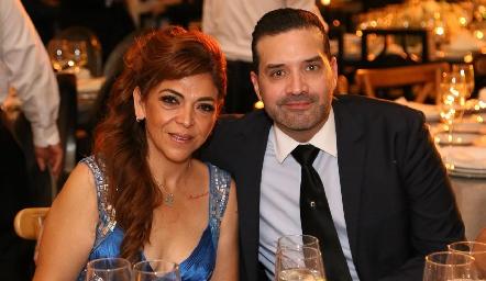 Natalia Castillo y Enrique.