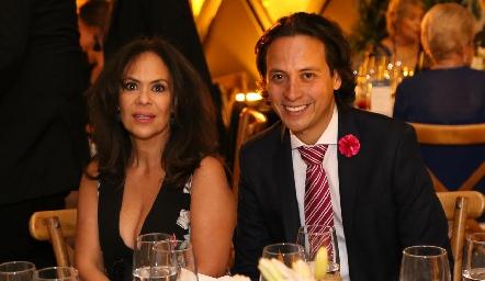 Malena Rubín de Celis y Edmundo Delgadillo.