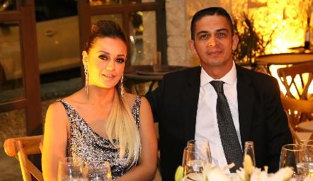 Cynthia Delgado y Felipe Delgadillo.