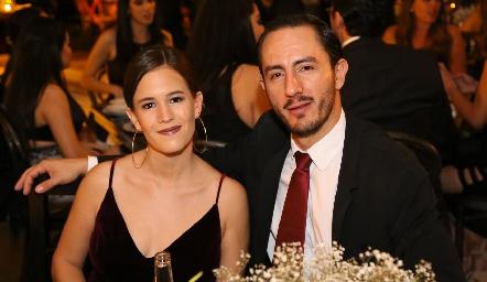 Montse Barral y Poncho López.